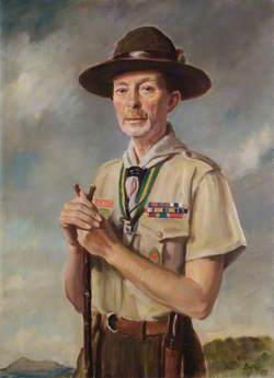 Lord Somers (1887–1944), KCMG, DSO, MC, as Chief Scout