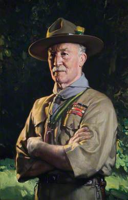 Lord Baden-Powell (1857–1941), as World Chief Scout