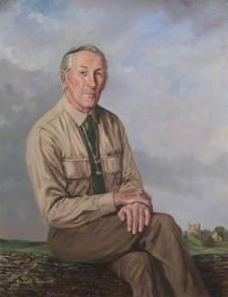 Sir Erskine William Gladstone (b.1925) as Chief Scout