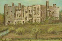 Parsloes Manor House from the South East, 1900
