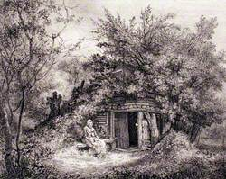 Lady Plomer's Place, on the Summit of Hawke's Bill Wood, Epping Forest