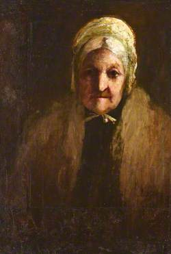 Grace Murray (?) in Old Age