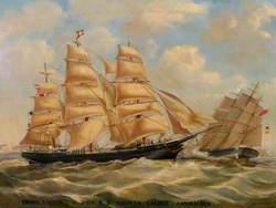 'Prince Victor of Saint John', N. B. Thomas Calder Commander