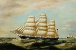 'Cutty Sark' Speaking 'E. S. Hocken' (of Fowey)