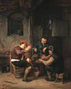 Three Peasants at an Inn