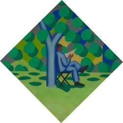 Man beneath Tree