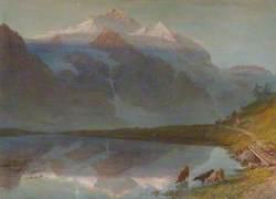 Mountain Scene – Jungfrau