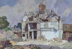 Demolition at Ipswich