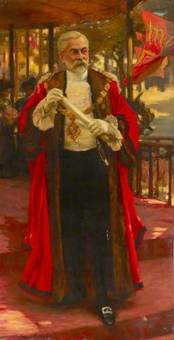 Frederick Redman, Mayor of Southwark (1901–1902)