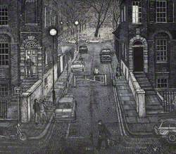 Cleaver Square from Kennington Park Road