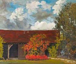 A Garden Landscape, Chorleywood