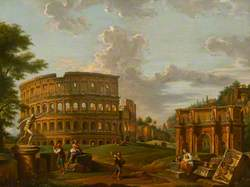 Roman Classical Landscape and Ruins