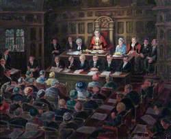 Council Meeting, Croydon, Surrey