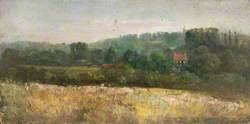 Addington from Croham Farm, Croydon, Surrey