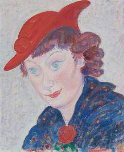 Woman with Red Hat (Femme au Chapeau Rouge)