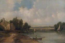 The Thames at Walton-on-Thames, Surrey