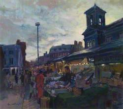 Market Place, Kingston, Surrey, at Twilight