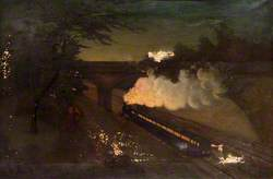 Surbiton Railway Cutting