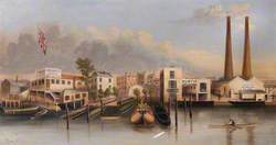 Lambeth and Southwark Waterfront, London