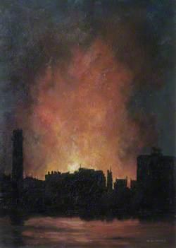 A Lambeth Bomb Incident, May 1941