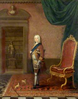 George II (1683–1760), in the Library of St James's Palace