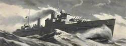 British Cruiser