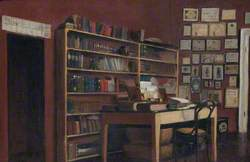 The Corner of Sir Richard Burton's Study
