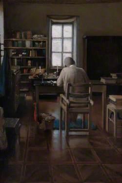 Sir Richard Burton in His Study