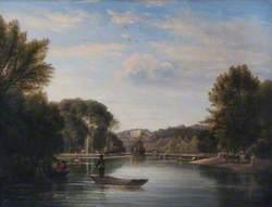 View towards Richmond Hill, Surrey