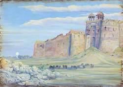Gate of the Old Fort, Delhi