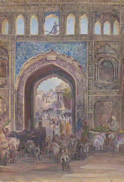 Gate at Lahore, Pakistan