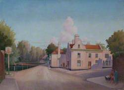 'The Greyhound' from Pound Street, Carshalton, Surrey