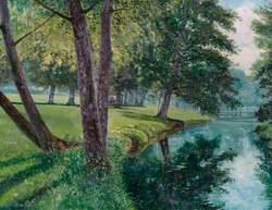 The Wandle in Grange Park, Wallington, Surrey