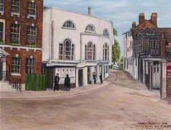 Lower Richmond Road Joining Putney High Street, 1878