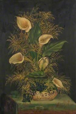 Vase of Lilies