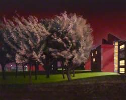 University Halls and Rainswept Maples