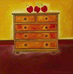 The Welsh Dresser (Dancing Apples) in the Heat