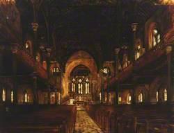 St Mary's Church, Ealing, Interior