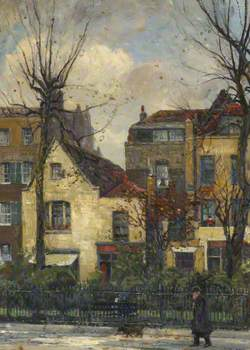 Old Houses in Cheyne Walk, Numbered 43–46
