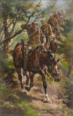 6th Dragoon Guards (Carabineers), A Dangerous Path