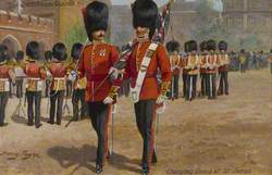 The Coldstream Guards Changing Guard at St James