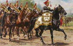 6th Dragoon Guards (Carabineers), The Drums and Band