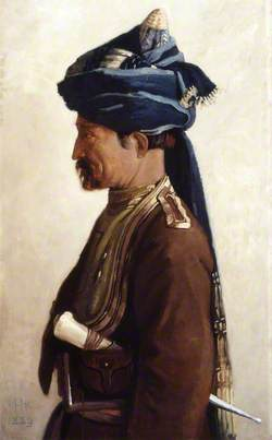 Mohamed, a Jemadar of the 5th Bengal Cavalry, 1889