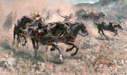 Saving the Guns at Maiwand, Royal Horse Artillery, 27 July 1880