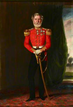 Colonel (later Major General) Philip McPherson (1790–1864), CB, 17th (The Leicestershire) Regiment of Foot