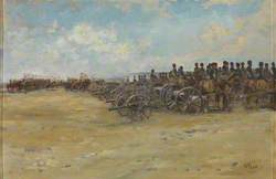 Royal Horse Artillery and Lancers, Waiting to Move Off
