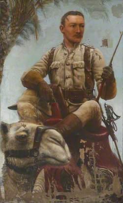 Lieutenant (later Major) Baden Fletcher Smyth Baden-Powell (1860–1937), Scots Guards, Nile Expedition, 1885