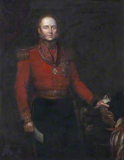 Major-General (later General Sir) John Alexander Dunlop Agnew Wallace (c.1775–1857), Colonel of the 88th Regiment of Foot (Connaught Rangers), c.1835