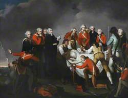 The Burial of General Simon Fraser (1729–1777), after the Battle of Saratoga, 1777