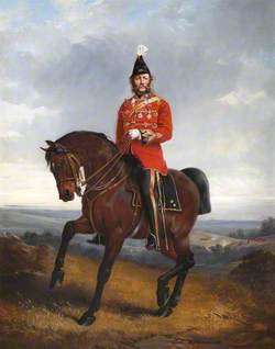 Major General (later General, Sir) William Montague Scott McMurdo (1819–1894), Inspector General of Volunteers